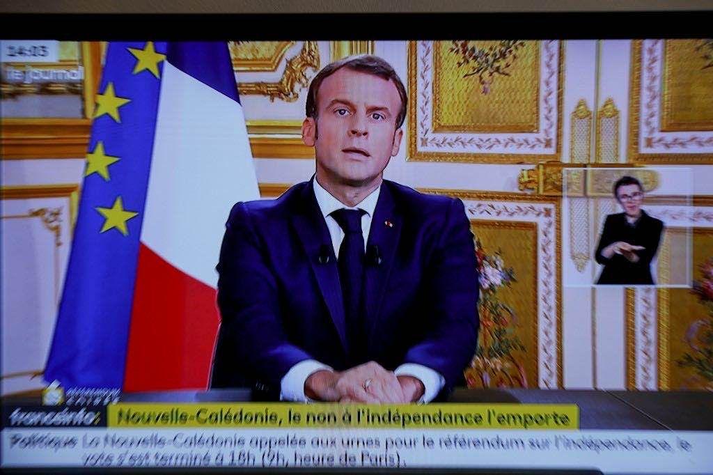 二次疫情来袭,马克龙说现在不是法国人寻欢作乐的时候了图片