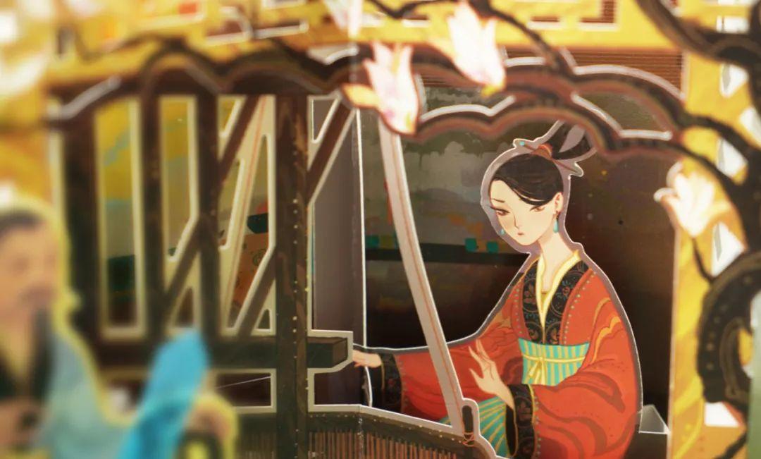流传千载的花木兰故事,首次推出立体书,超震撼!|| Chin@美物