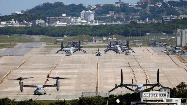 ▲資料圖片:位于沖繩的駐日美軍普天間基地。(美國防部官網)