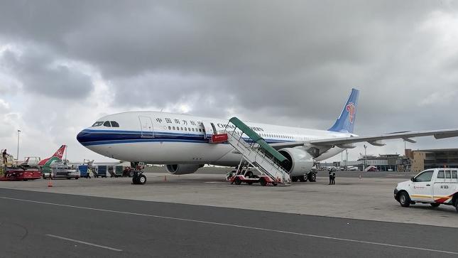 肯尼亚首都内罗毕至长沙之间的客运航班中断8个月后恢复运营