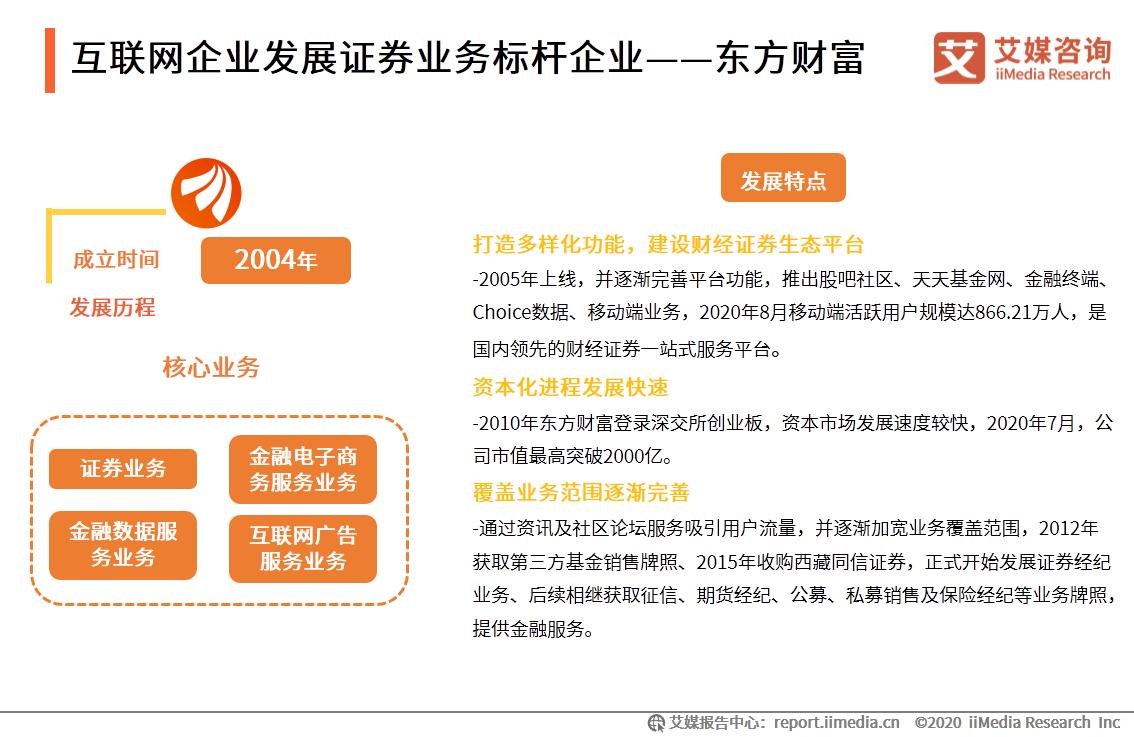 2020年中国互联网券商案例分析:东方财富、华泰证券、老虎证券