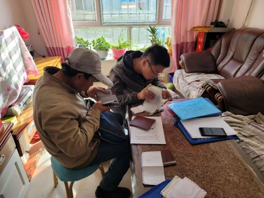 张掖市生态环境局深入帮扶村开展脱贫攻坚成果全面检视入户调查工作