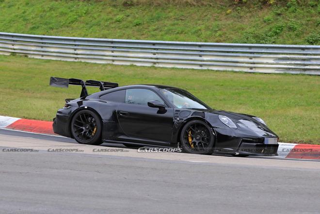 赛道上的性能怪兽 911 GT3 RS谍照曝出