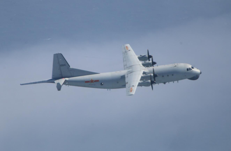 台军:解放军军机昨晚、今早进入台湾西南空域图片