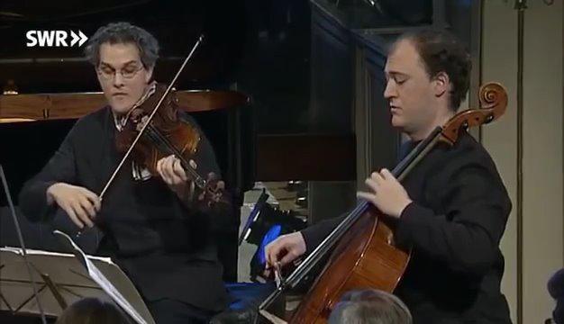 卡萨尔斯四重奏组演奏: 韦伯恩弦乐四重奏五章Op.5