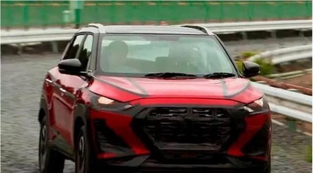 定位低于劲客,日产最小SUV无伪谍照曝光,全系三缸