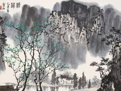 白雪石画漓江,独具特色