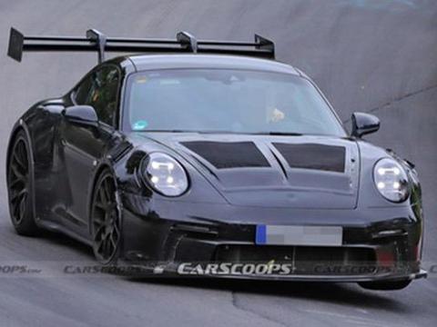 保时捷新911 GT3 RS谍照曝光 有望2021年发布