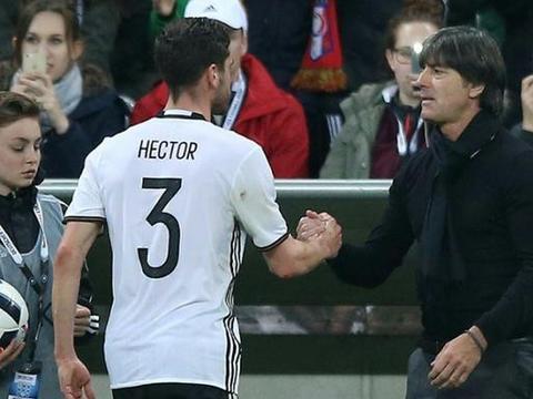 勒夫感谢赫克托:他是忠诚的榜样,是优秀的团队球员