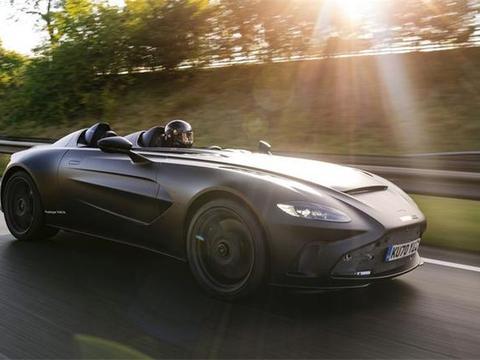无前档的艺术,阿斯顿马丁新车型官图发布,未开卖就被订走75%