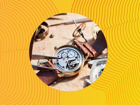 机械表的动力从哪里来?上发条或摆动,其实是机械表机芯原动系!