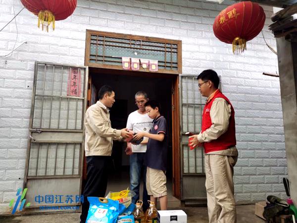 """南京溧水供电:撒下""""一米阳光""""""""照亮""""脱贫路图片"""
