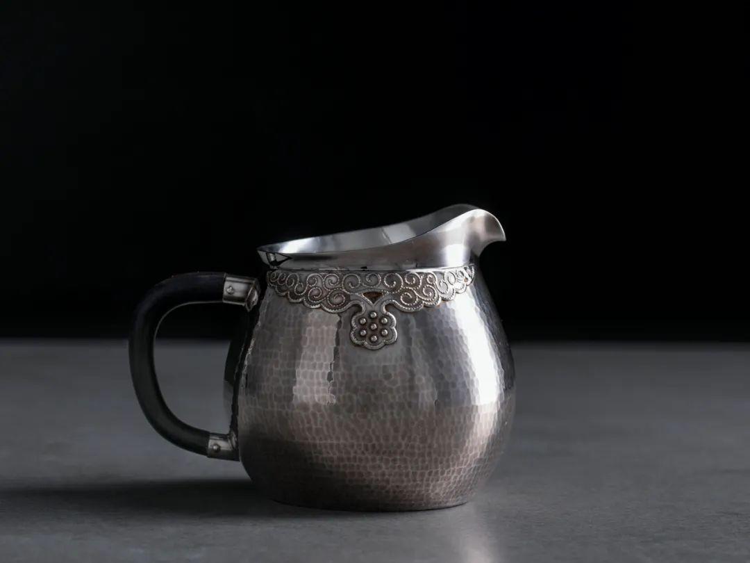 绝美纯银手工银壶,百年制壶世家出品,因银而贵,为茶而生 || Chin@美物
