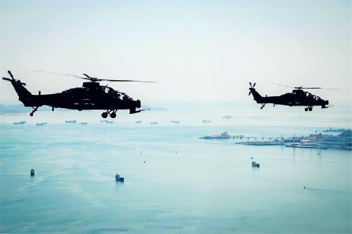 第73集团军某陆航旅从难从严突出高难课目训练