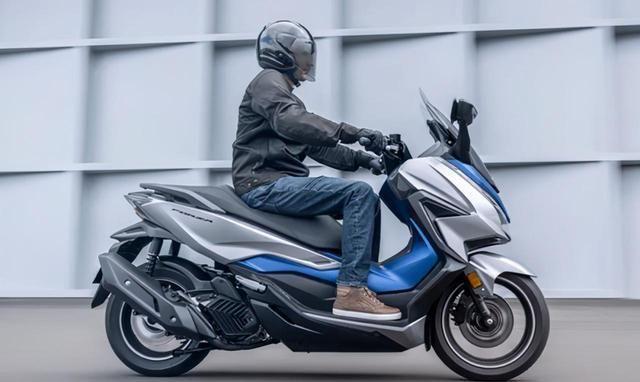 2021款本田佛沙125,电动风挡、前后ABS,你要的都有