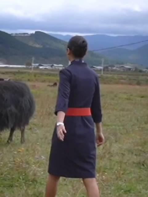 来自中国东方航空:就业帮扶让格茸卓玛从大山里飞向蓝天……