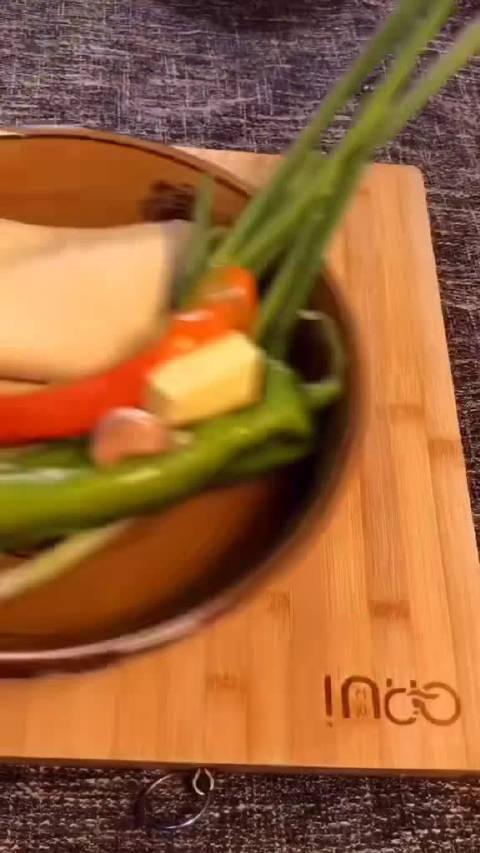 尖椒炒干豆腐教程……
