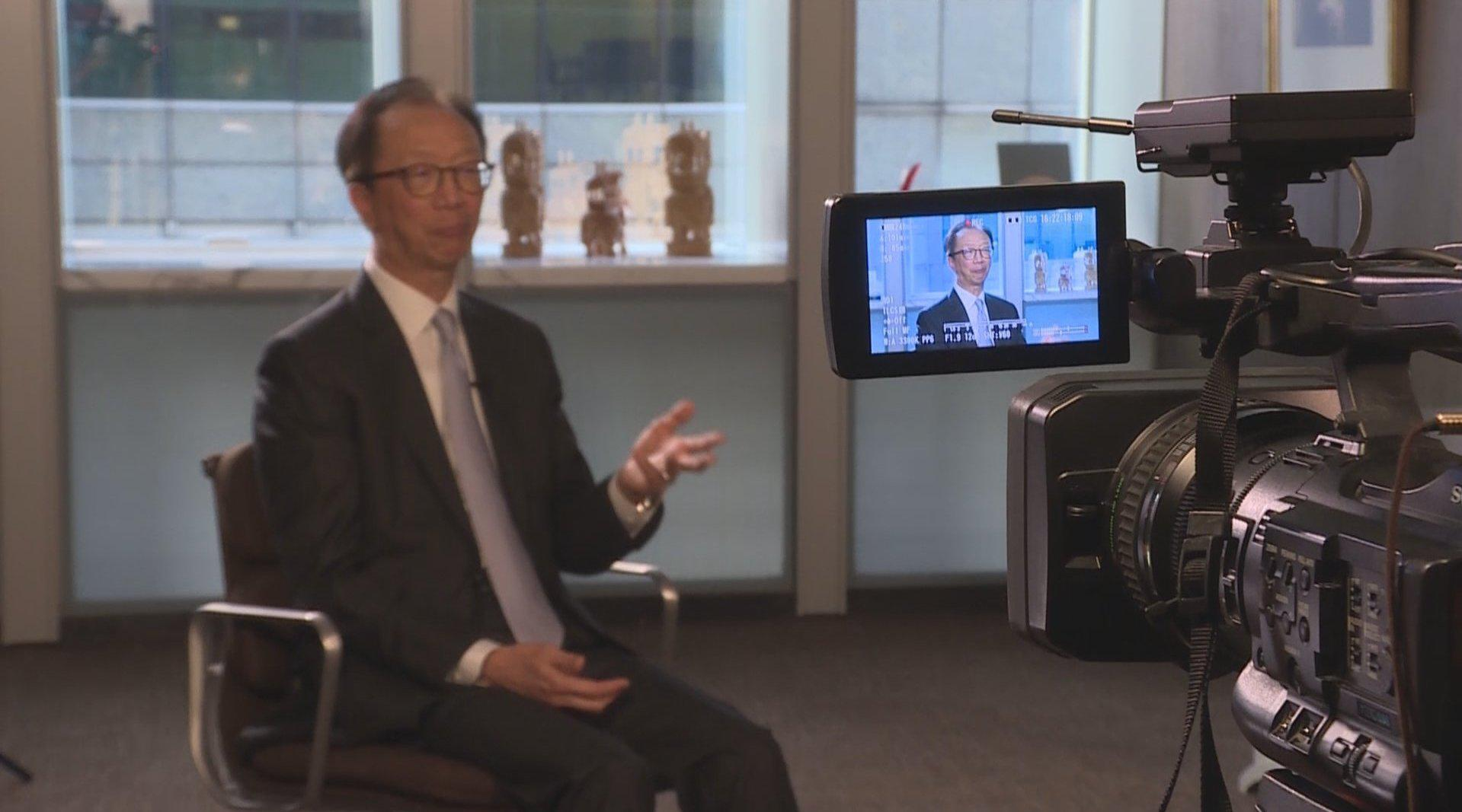 梁锦松:香港和深圳要像习主席期望的那样加强互联互通