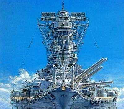 除了460毫米三联装主炮 供应冷气和冰激凌也是大和号最出名的地方