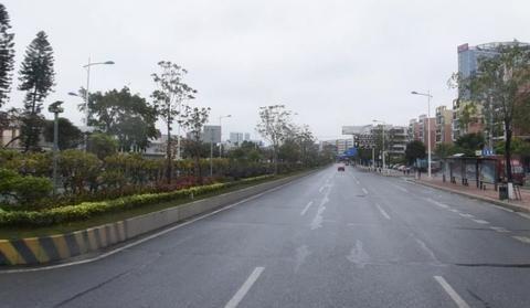广东佛山又一城市主干路快速化改造,四车道拓宽改造双向六车道