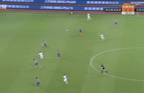 半场战报:青岛0-0永昌,穆里奇受伤,刘鑫瑜单刀被扑救