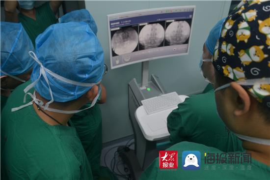 淄博市中心医院完成机器人辅助下骨盆复杂粉碎骨折复位内固定手术