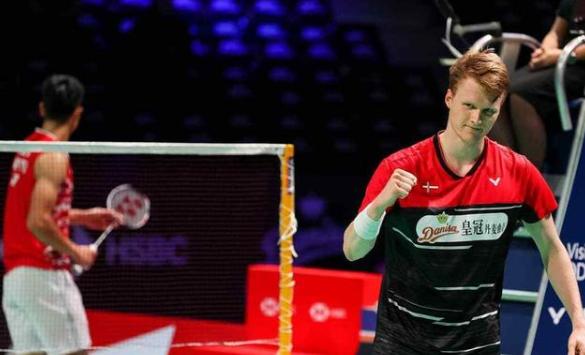 丹麦羽球赛:本土选手包揽男单前二 马林挺进决赛