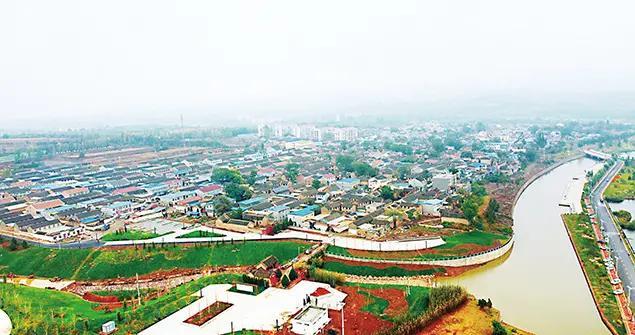 晋城:丹河新城金村起步区形象初成