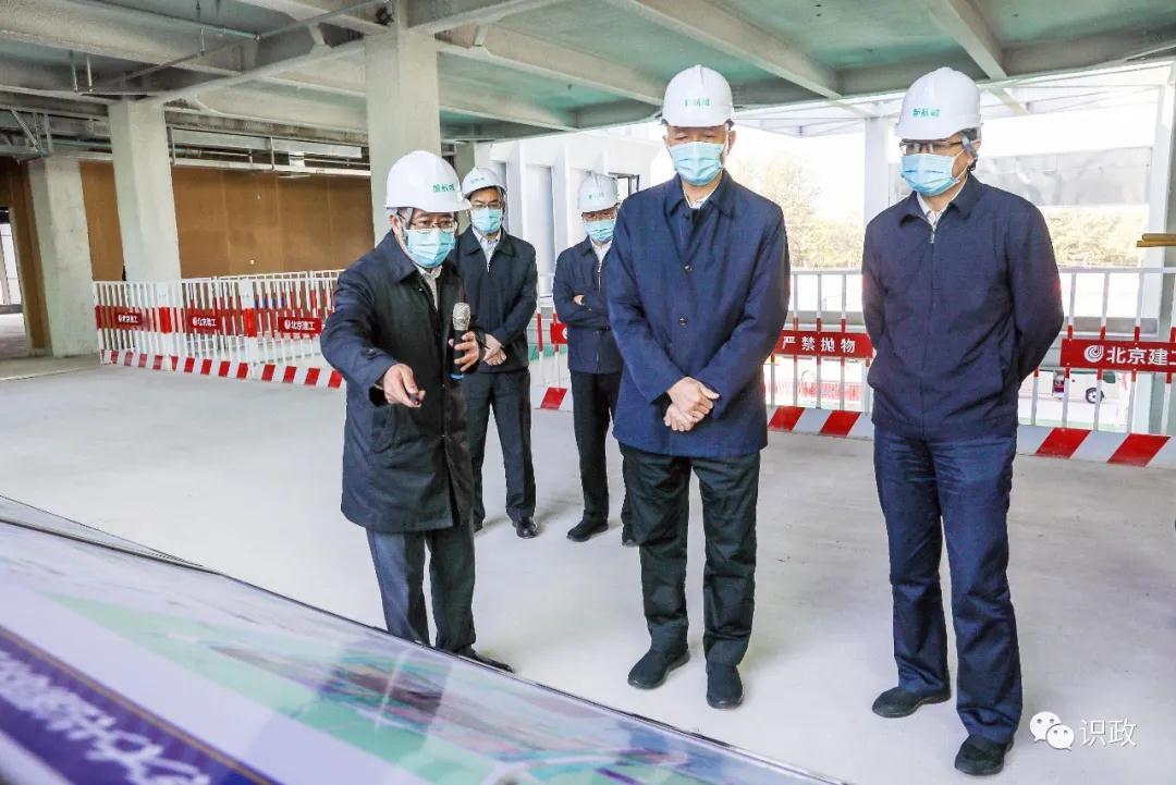 蔡奇:努力将大兴机场临空经济区打造成北京改革开放新高地图片