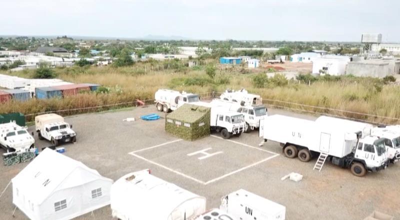 中国第六批赴南苏丹维和步兵营通过联南苏团现场评估