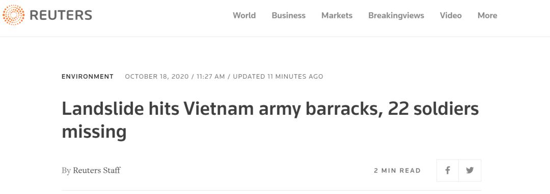 突发:越南22名士兵被埋图片