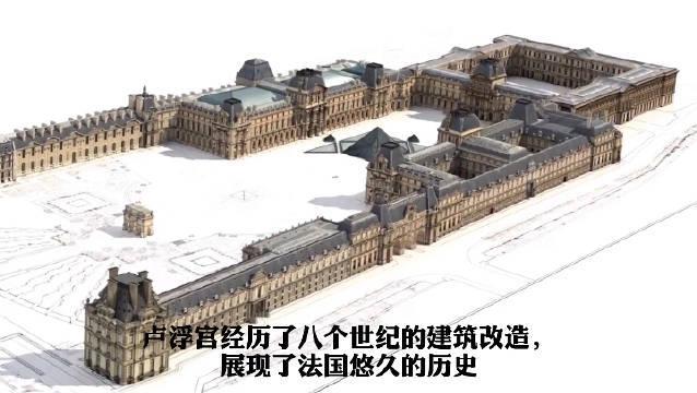 卢浮宫是怎样建成的