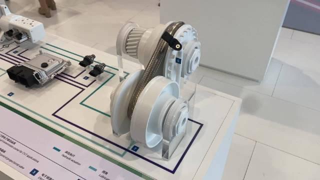 博世得CVT变速器准备要搭载到纯电动汽车上……