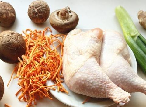 香菇蒸鸡腿, 营养原汤, 宝宝吃了身体棒