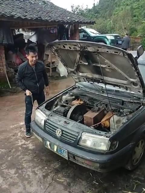 视频:拥有桑塔纳,汽油柴油都不怕!