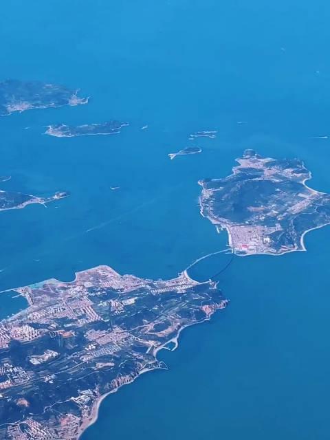 飞跃烟台长岛,飞向东北明珠大连