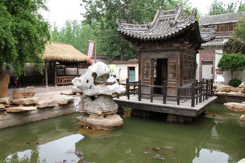 菏泽市郓城县水浒好汉城语音讲解、手绘地图、电子游览路线上线