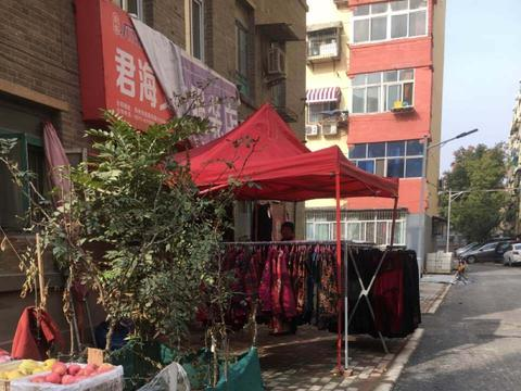 为私利占道经营,郑州国棉四厂小区居民苦不堪言