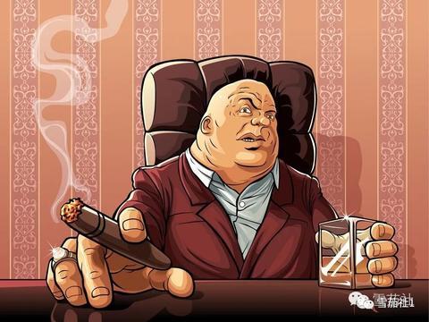 古巴雪茄烟雾中的慢活法享受曼妙的男人仪式