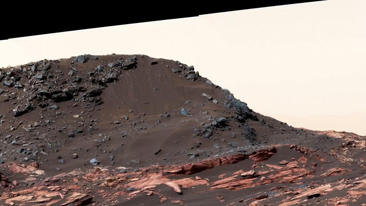 精彩!好奇号火星车又拍到了火星一些全景美图