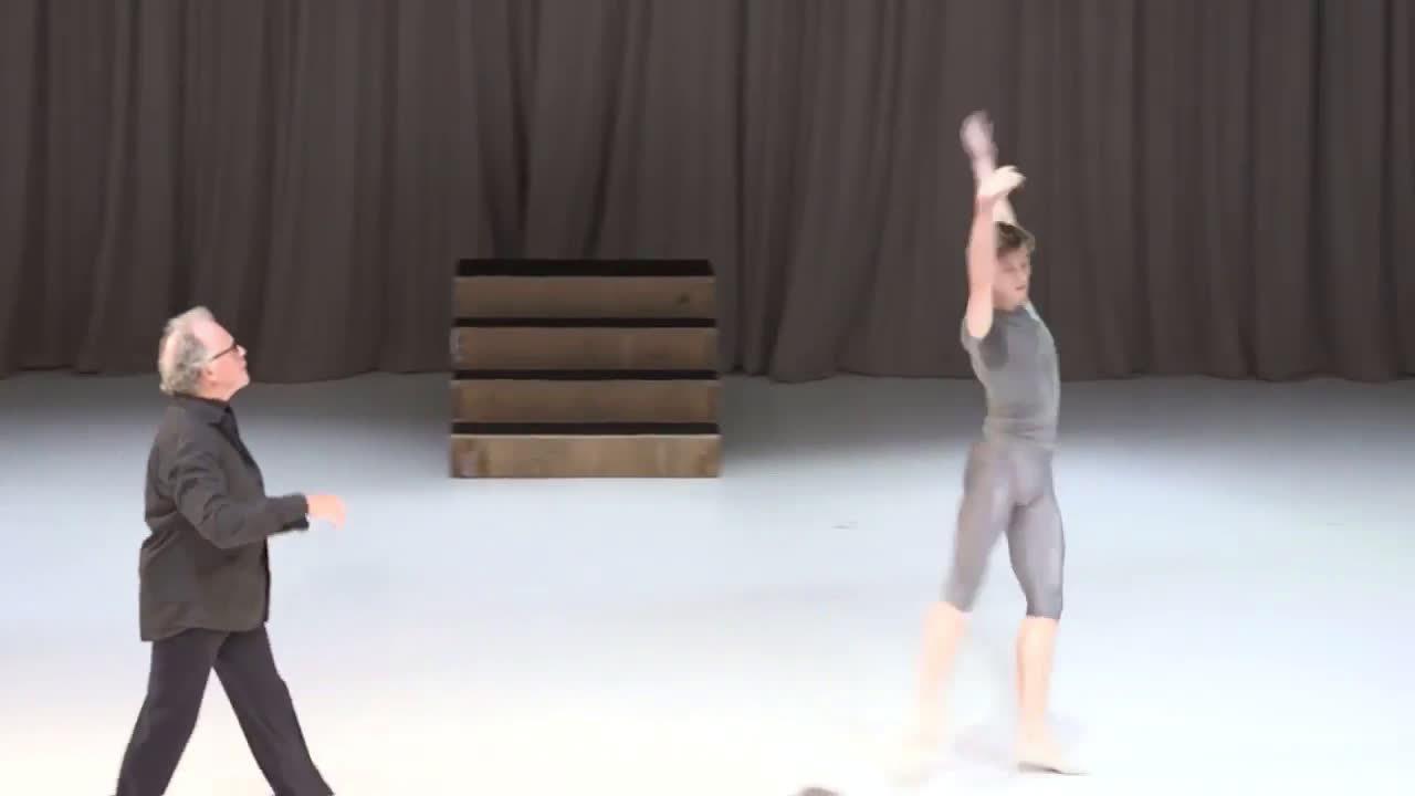 英国皇家芭蕾舞团首席 瓦第.米达贾夫Vadim
