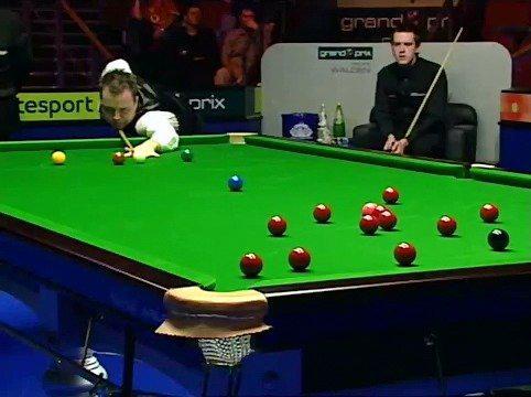2004年大奖赛,希金斯与沃顿比赛的第三局,巫师打出147