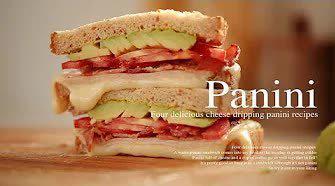4种美味的奶酪帕尼尼食谱!