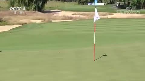 [高尔夫]冯珊珊战队赢得职业业余比洞赛胜利
