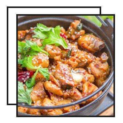 【明天吃】鲜虾口袋三明治、红糖蜜薯、干锅鸡、黄辣丁炖豆腐、蒲烧茄子饭