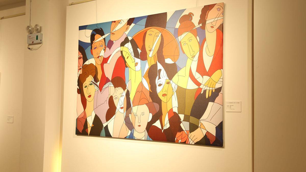 艺术家二次艺术创作展大连开展