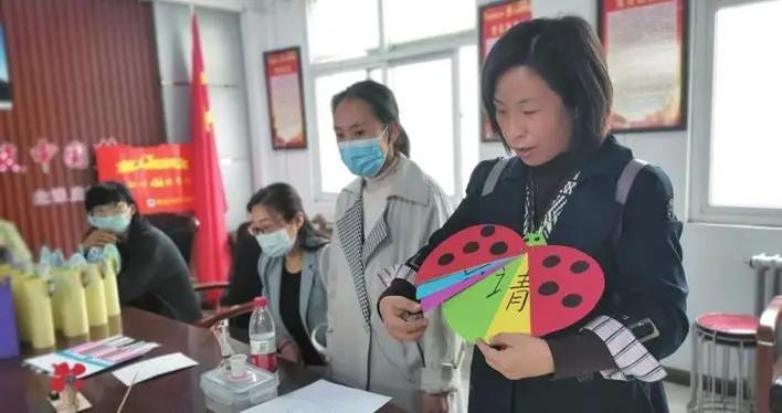 邯郸北张庄学区开展自制教具展评活动