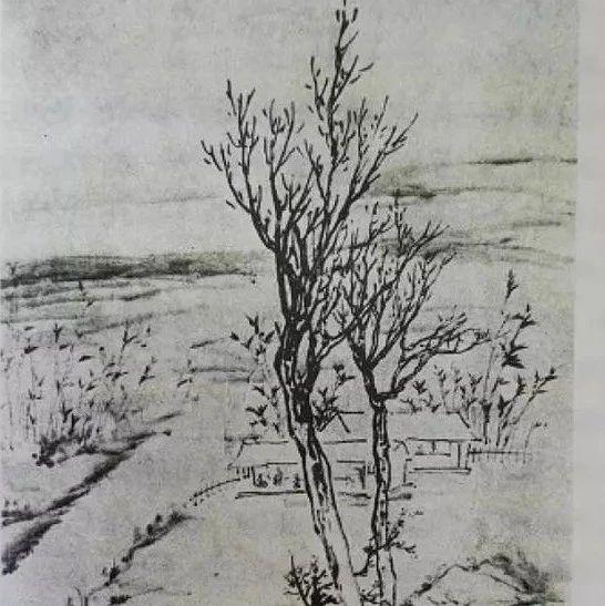 黄宾虹、张大千联手挥毫泼墨,画了我大浦东的这个村!来看可以入画的小乡村