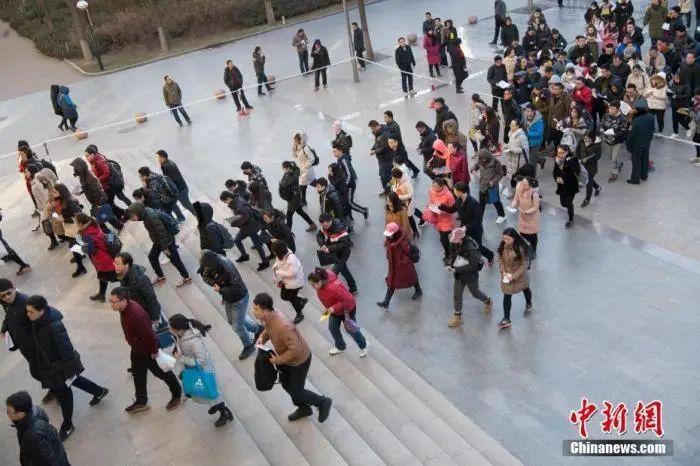 """国考报名,热门岗位已超""""千里挑一""""图片"""