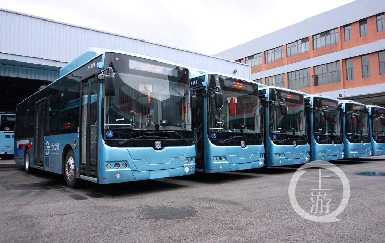 更方便了!北部公交在蔡家、歇马等城市新区投放68辆新能源公共汽车
